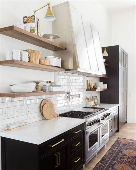 mixed metals kitchen 30 timeless and chic glossy tile decor ideas digsdigs