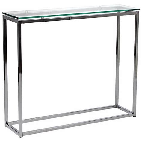 clear glass console table sandor clear glass console table x7389 ls plus