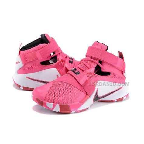 lebron shoes pink nike lebron soldier 9 quot think pink quot hyper pink black white