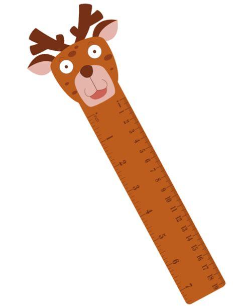 printable ruler bookmark bookmark ruler reindeer kidspressmagazine com