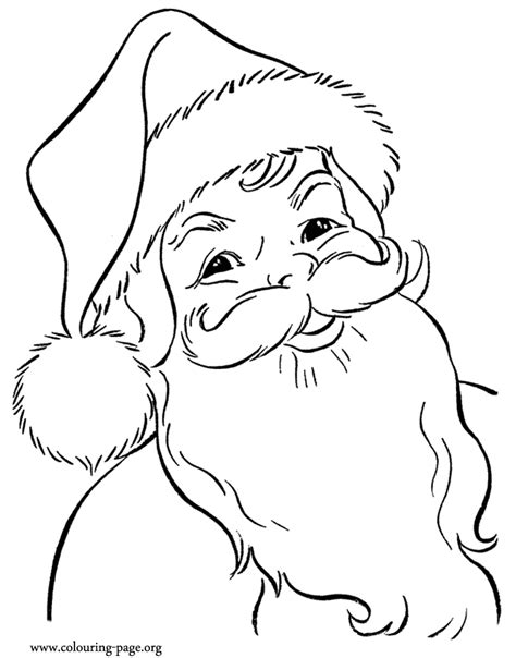 printable santa pictures free santa coloring pages 2018 z31 coloring page