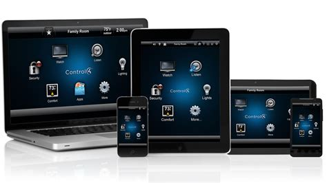control4 home automation comes to android phones and