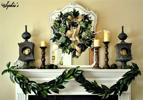 Mantel Decorations Garland by S How To Make A Garland With Magnolia Leaves