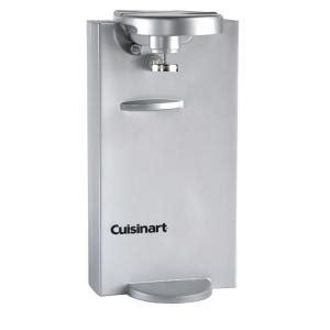 cuisinart brushed chrome electric can opener discontinued