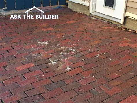 brick patio repair brick patio repair ask the builderask the builder