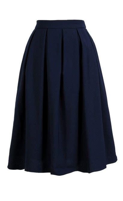 navy a line skirt navy pleated a line skirt navy