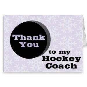 free printable thank you cards for hockey coach thank you hockey coach quotes quotesgram