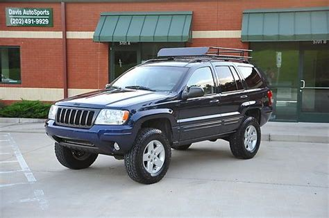 2004 Jeep Grand Roof Rack by Sell Used 2004 Jeep Grand Limited Lifted New