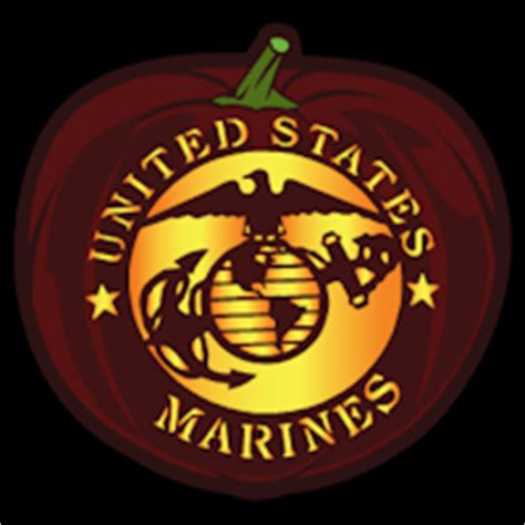 us marines 02 co stoneykins pumpkin carving patterns and