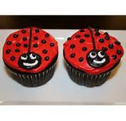 Jazzed Up Cakes Ladybug Cupcakes