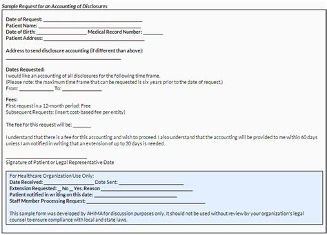 accounting and tracking disclosures of protected health