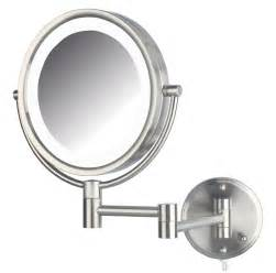 Vanity Mirror Wall Mounted Jerdon Hl88nl 8 5 Inch Led Lighted Wall Mount