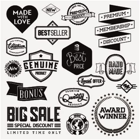 design white label vintage labels black and white www pixshark com images