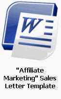 affiliate templates ready made sales letters fully customizable sales letter