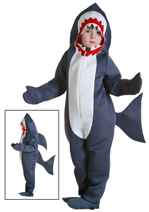 comfortable costumes toddler shark costume