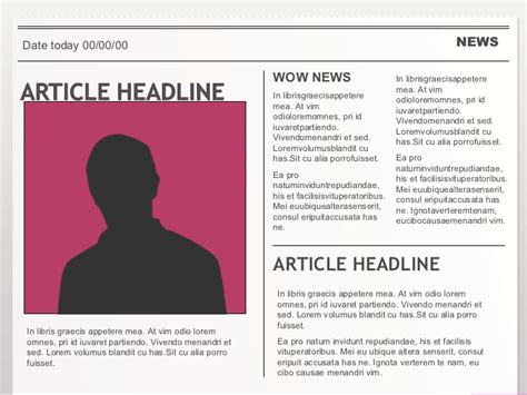how to write a news paper article how to write a newspaper article