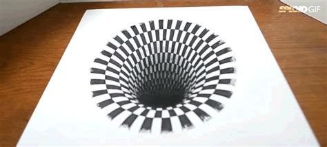 How To Make Optical Illusions On Paper - how to create the illusion of 3d using pencil and paper