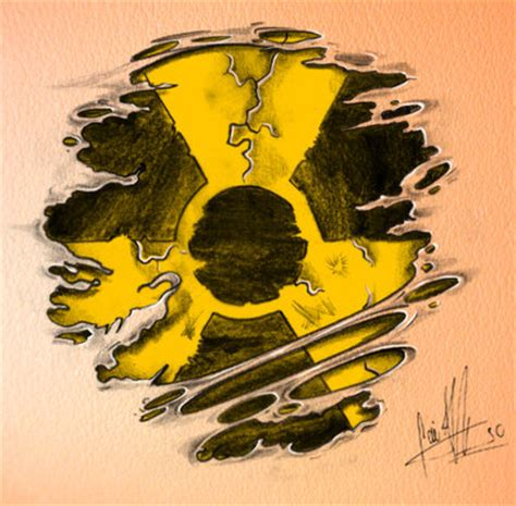atomic bomb tattoo designs nuclear symbol by caiojhonson on deviantart