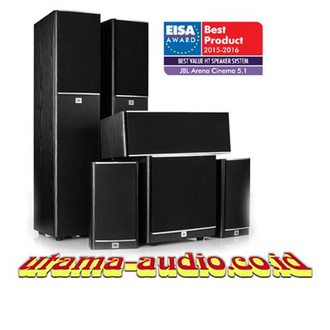 Paket Home Theater Jbl jual jbl arena cinema 5 1 channel paket home theater