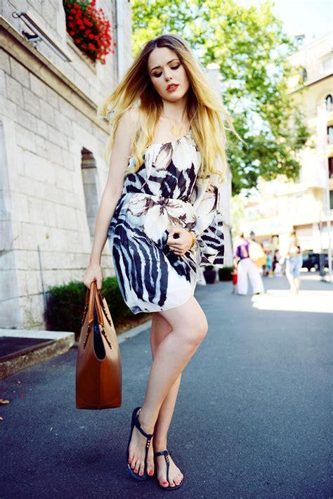dress   thong sandals glam radar