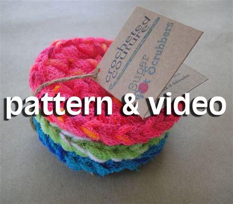 pattern for nylon net scrubbies nylon netting pot scrubber pattern video search engine