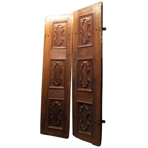 Antique Exterior Doors For Sale Antique Walnut Entry Door For Sale At 1stdibs