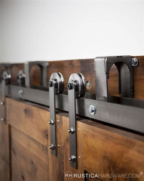 Diy Bypass Barn Door Hardware Best 25 Bypass Barn Door Hardware Ideas On Closet Door Hardware Sliding Barn Door