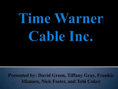 Time Warner Email Login Search Time Warner Cable Strategy