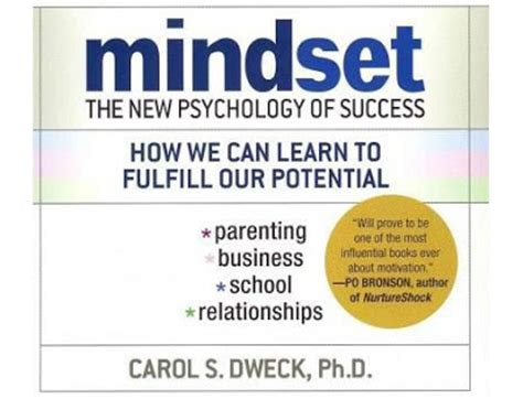 summary mindset the new psychology of success books stockkevin carol dweck quot the growth mindset quot concept review