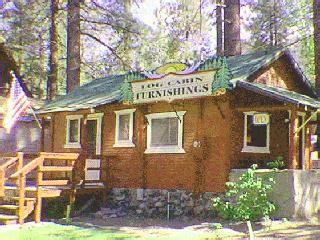 log cabin furnishings wrightwood model
