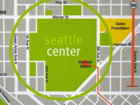 seattle map monorail events news seattle monorail