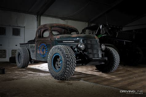 Trophy Rat: A Hot Rod Pickup With Real Off Road Chops
