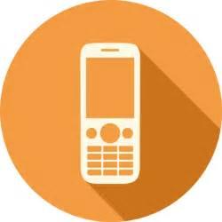 phone icon mobile phone icon long shadow media iconset pelfusion