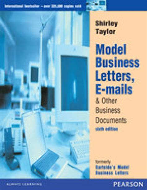 Model Business Letter Book model business letters e mails other business documents