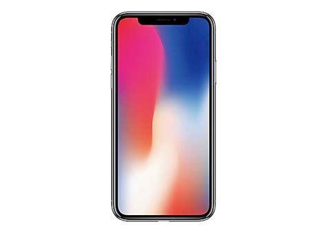 apple iphone x silver 4g lte lte advanced 64 gb gsm smartphone mqa62ll a cell