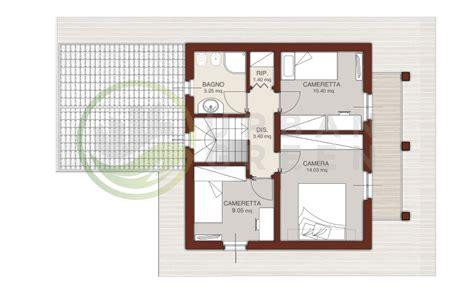 progetto casa in legno casa in legno bipiano urb04 green