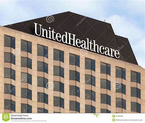 stock united healthcare united healthcare building editorial photo image of