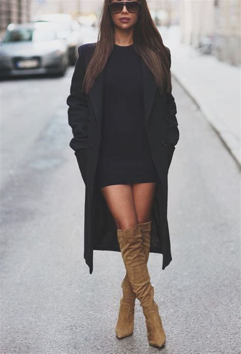 how to wear knee high boots this fall glam radar