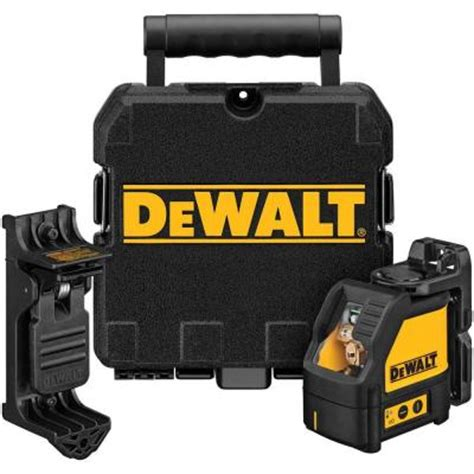 dewalt self leveling line laser dw087k the home depot