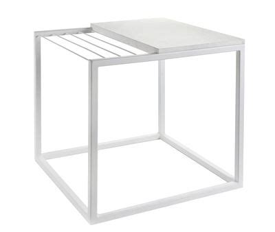 Magazine Rack With L by Hang It Small End Table Magazine Rack L 47 X H 49 Cm