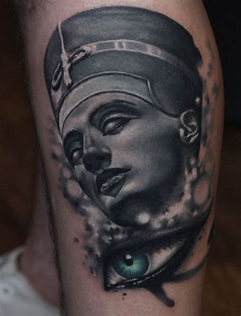 nefertiti tattoo nefertiti inkstylemag