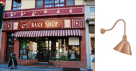 store signs with lights sign lights add the finishing touch to carlo s bakery