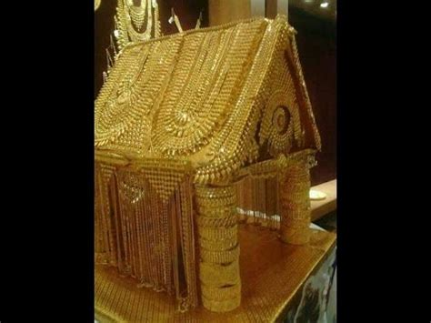 house made of gold dubai golden house made with jewellery youtube
