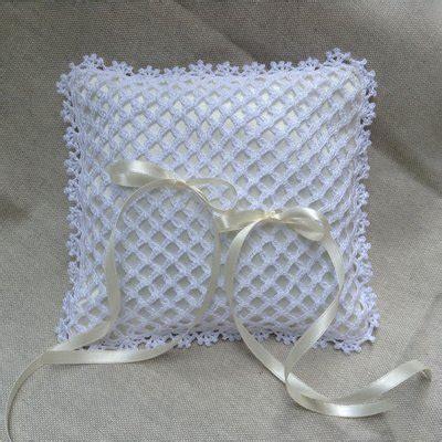 cuscino portafedi uncinetto cuscinetto portafedi uncinetto feste matrimonio di