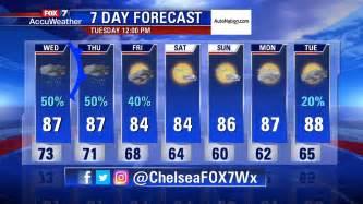 Weather Forecast 7 Days Fox 7 7 Day Forecast Ktbc
