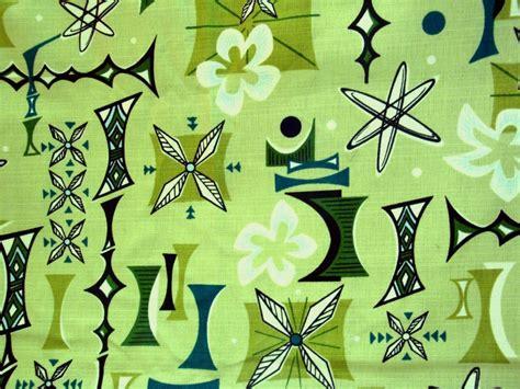 mid century modern fabric reproductions retro atomic barkcloth fabric hawaiian tiki boomerang beat