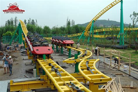 theme park under construction happy valley sheshan photos by the theme park guy