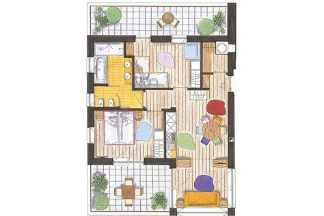 Trilocale 60 Mq by Predazzo Appartamento Residence Color Home