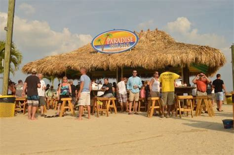 Tiki Bar And Grill by Tiki Bar Picture Of Paradise Grill Neck Tripadvisor