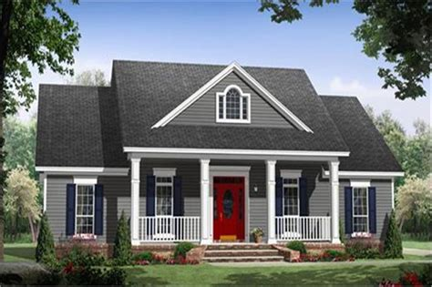 Small Cottages House Plans 3 bedrm 1640 sq ft country house plan 141 1243